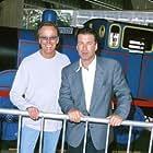 Alec Baldwin and Peter Fonda at an event for Thomas and the Magic Railroad (2000)