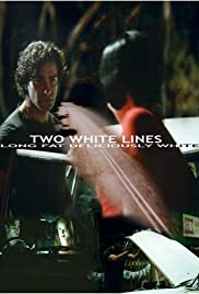 Two White Lines Poster