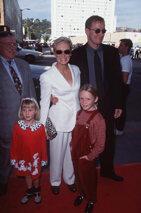 Glenn Close and Steve Beers at an event for 101 Dalmatians (1996)