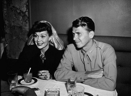 Image result for RONALD REAGAN AND JANE WYMAN