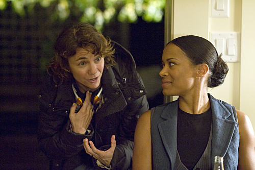 Ilene Chaiken and Rose Rollins in The L Word (2004)