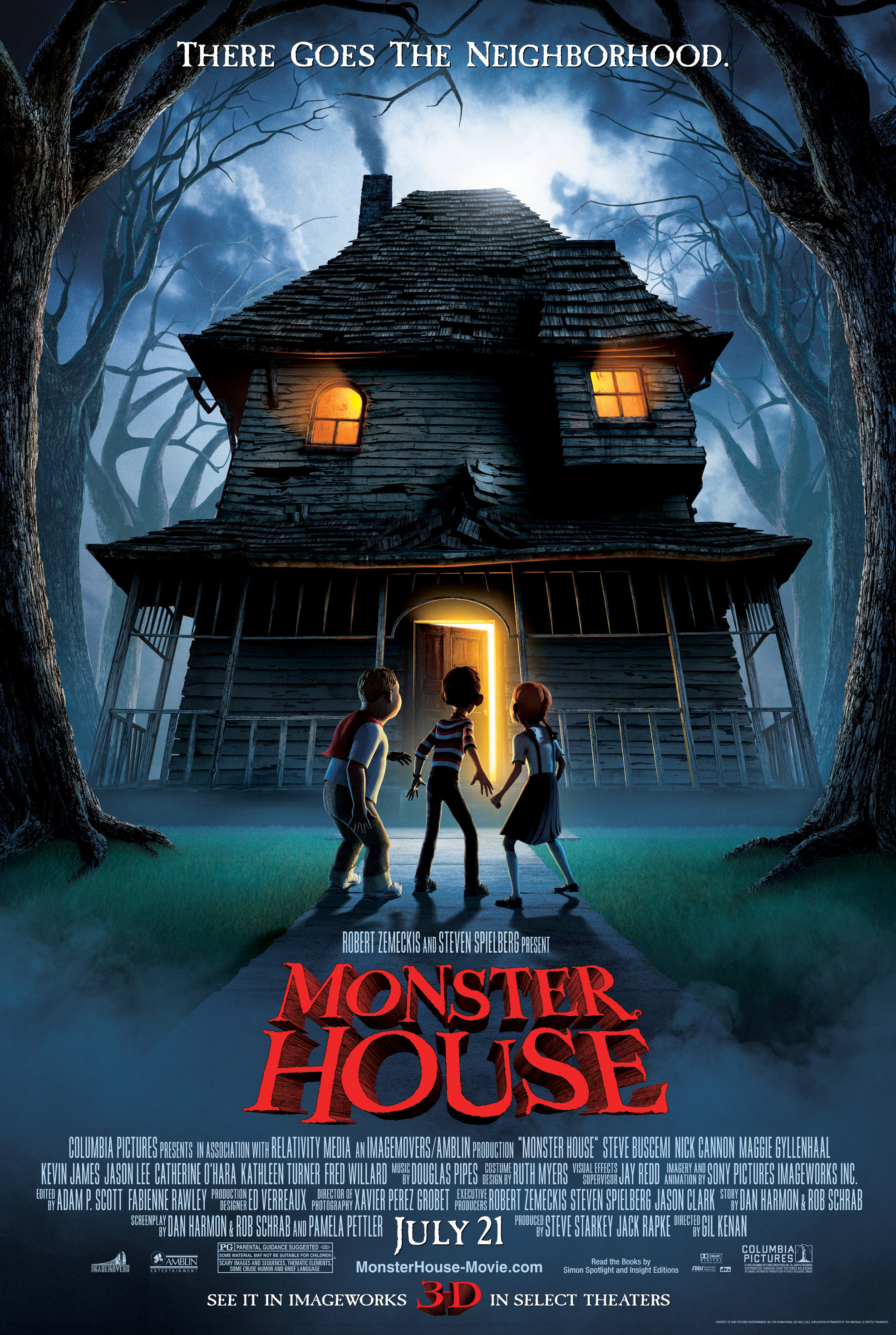 Monster House 2006 Hindi Dual Audio 300MB BluRay ESubs Download