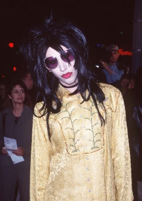 Marilyn Manson at an event for Alien: Resurrection (1997)