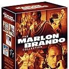 Marlon Brando, Elizabeth Taylor, and Glenn Ford in Julius Caesar (1953)