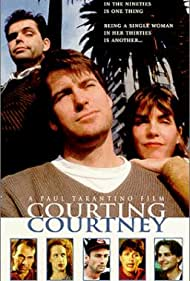 Kathy Griffin, Eliza Coyle, Dana Gould, Chris Hardwick, Taylor Negron, Ryan Stiles, and Julia Sweeney in Courting Courtney (1997)