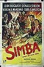 Simba (1955) Poster