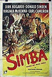 Simba (1955) Poster - Movie Forum, Cast, Reviews