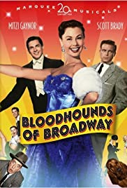 Bloodhounds of Broadway (1952) Poster - Movie Forum, Cast, Reviews
