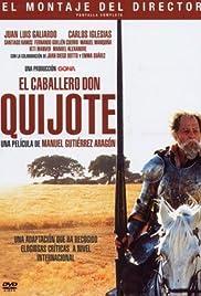 El caballero Don Quijote Poster