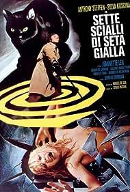 Shirley Corrigan and Anthony Steffen in Sette scialli di seta gialla (1972)