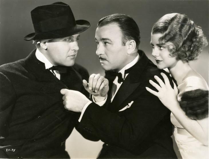 Ralph Bellamy, Robert Armstrong, and Helen Mack in Blind Adventure (1933)