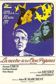 Javier Escrivá, Ágata Lys, and Carmen Sevilla in La noche de los cien pájaros (1976)