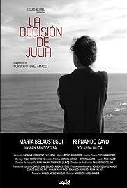 La decisión de Julia Poster