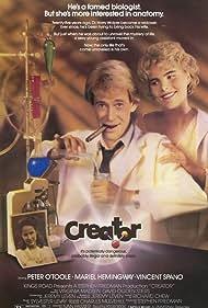 Mariel Hemingway and Peter O'Toole in Creator (1985)