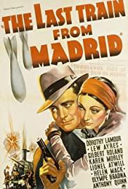 The Last Train from Madrid Poster