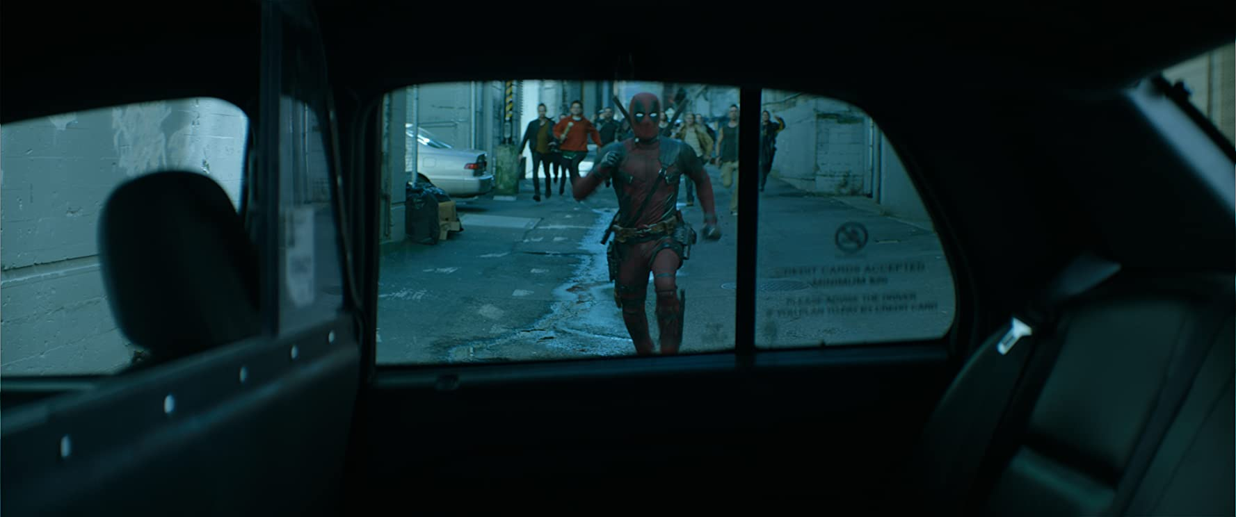 Ryan Reynolds in Deadpool 2 (2018)