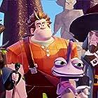 Rajia Baroudi, Brian George, Peter Kelamis, and Brian T. Delaney in Disney Infinity 3.0 (2015)