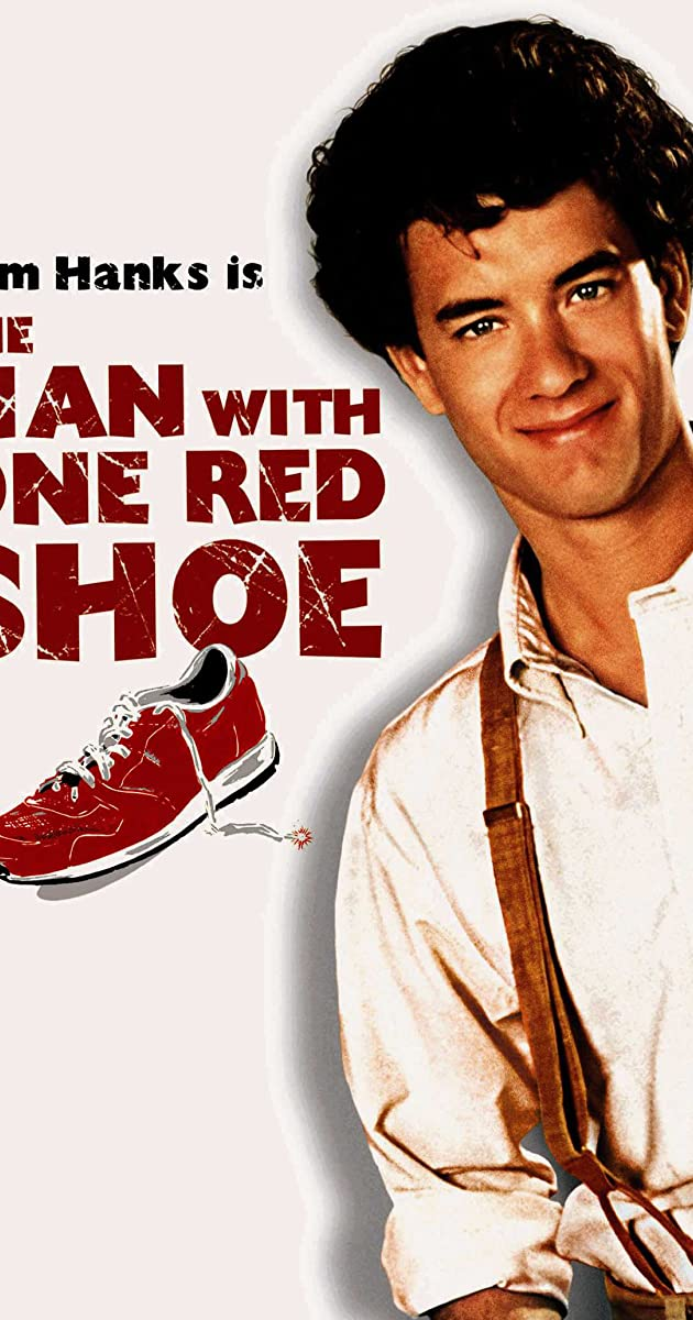 Subtitle of The Man with One Red Shoe