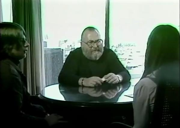 Sergio Leone and Stéphan Bureau in Téléjeans (1978)