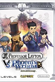 Professor Layton vs. Ace Attorney Poster