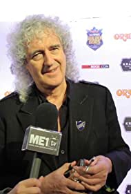 Brian May in ME1 TV at the Metal Hammer Golden Gods Awards (2015)