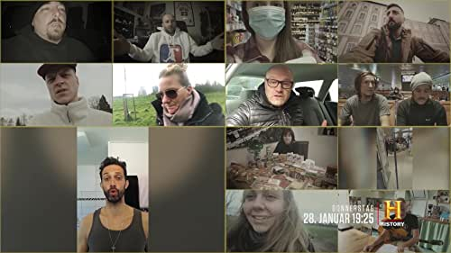 This hour-long documentary and original production by HISTORY Germany chronologically narrates the corona-virus outbreak and its consequences in Germany, Austria and Switzerland based on user-submitted footage.