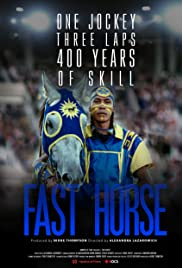 Fast Horse Poster