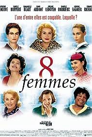 Fanny Ardant, Emmanuelle Béart, Catherine Deneuve, Isabelle Huppert, Virginie Ledoyen, Danielle Darrieux, Firmine Richard, and Ludivine Sagnier in 8 femmes (2002)