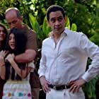 Alex Fernandez, José Zúñiga, Murielle Zuker, and Emily Tosta in The Last Ship (2014)