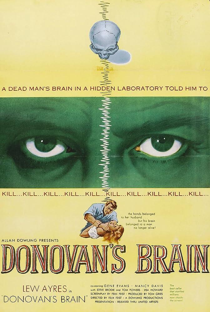 Il cervello di Donovan (1953) HD