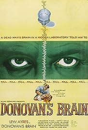 Donovan's Brain Poster