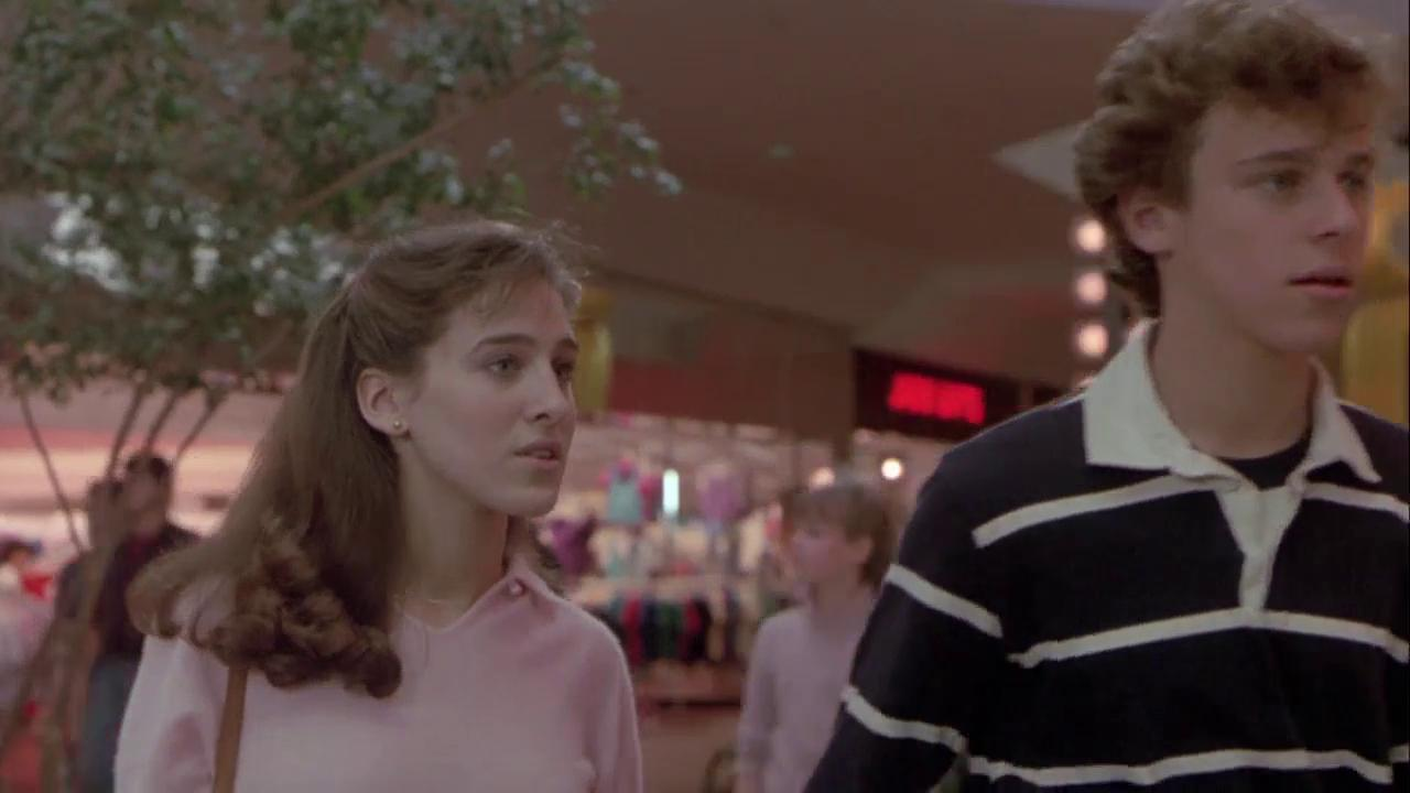 Sarah Jessica Parker and Christopher Collet in Firstborn (1984)