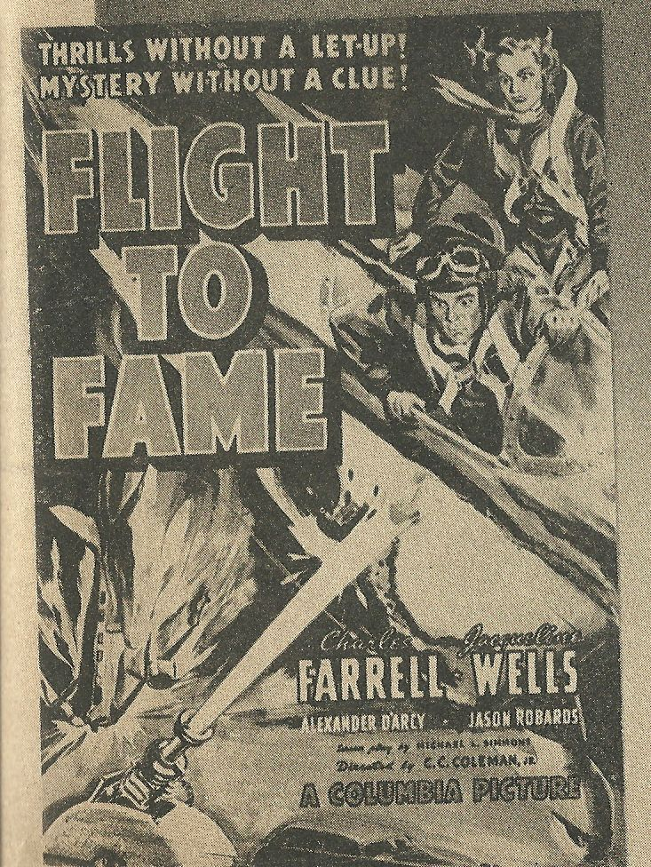 Julie Bishop and Charles Farrell in Flight to Fame (1938)
