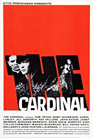 Romy Schneider and Tom Tryon in The Cardinal (1963)