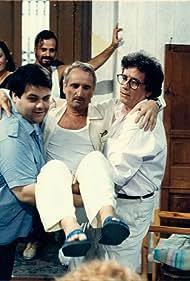 Spiros Papadopoulos and Nikitas Tsakiroglou in Ekmek pagoto (1991)