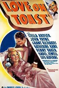 Stella Adler and John Payne in Love on Toast (1937)