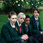 Georgia Henshaw, Eleanor Tomlinson, Georgia Groome, and Manjeeven Grewal in Angus, Thongs and Perfect Snogging (2008)