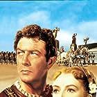 Deborah Kerr and Robert Taylor in Quo Vadis (1951)