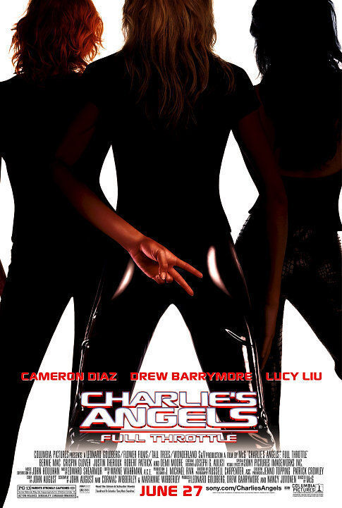 Poster film Charlie's Angels: Full Throttle.