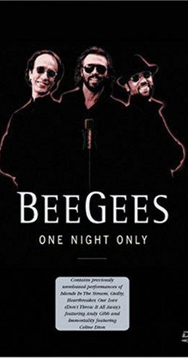 Bee Gees One Night Only 1997 Full Cast Crew Imdb