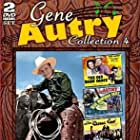 Gene Autry, Smiley Burnette, June Storey, and Champion in Blue Montana Skies (1939)