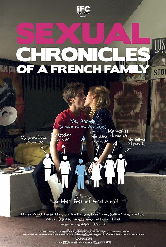 Mathias Melloul and Adeline Rebeillard in Chroniques sexuelles d'une famille d'aujourd'hui (2012)