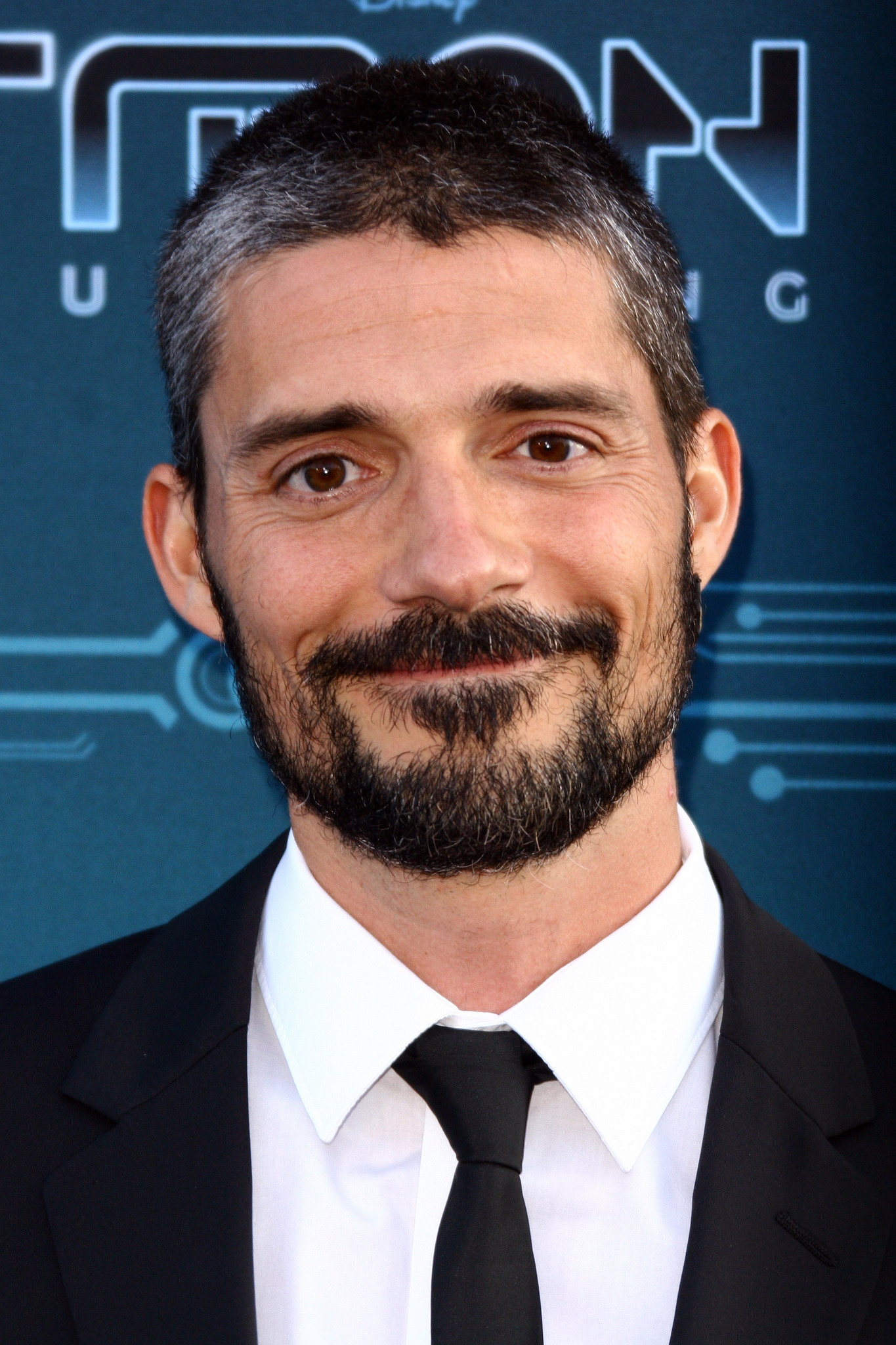 Alberto Mielgo at an event for TRON: Uprising (2012)