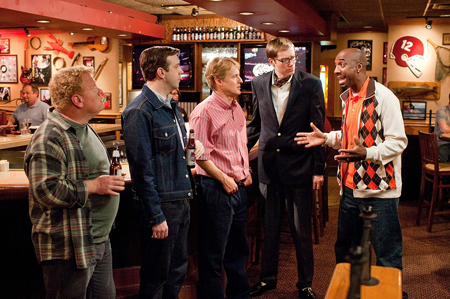 Owen Wilson, Larry Joe Campbell, Stephen Merchant, Jason Sudeikis, and J.B. Smoove in Hall Pass (2011)