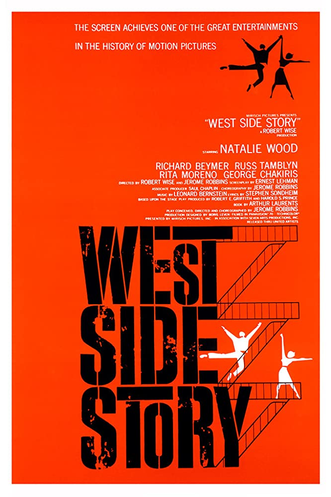 """West Side Story"" (Saul Bass Poster) 1961"