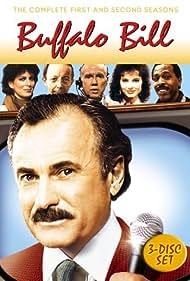 Geena Davis, Dabney Coleman, John Fiedler, Meshach Taylor, and Max Wright in Buffalo Bill (1983)
