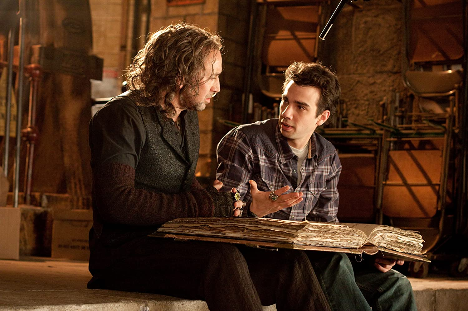 Nicolas Cage and Jay Baruchel in The Sorcerer's Apprentice (2010)
