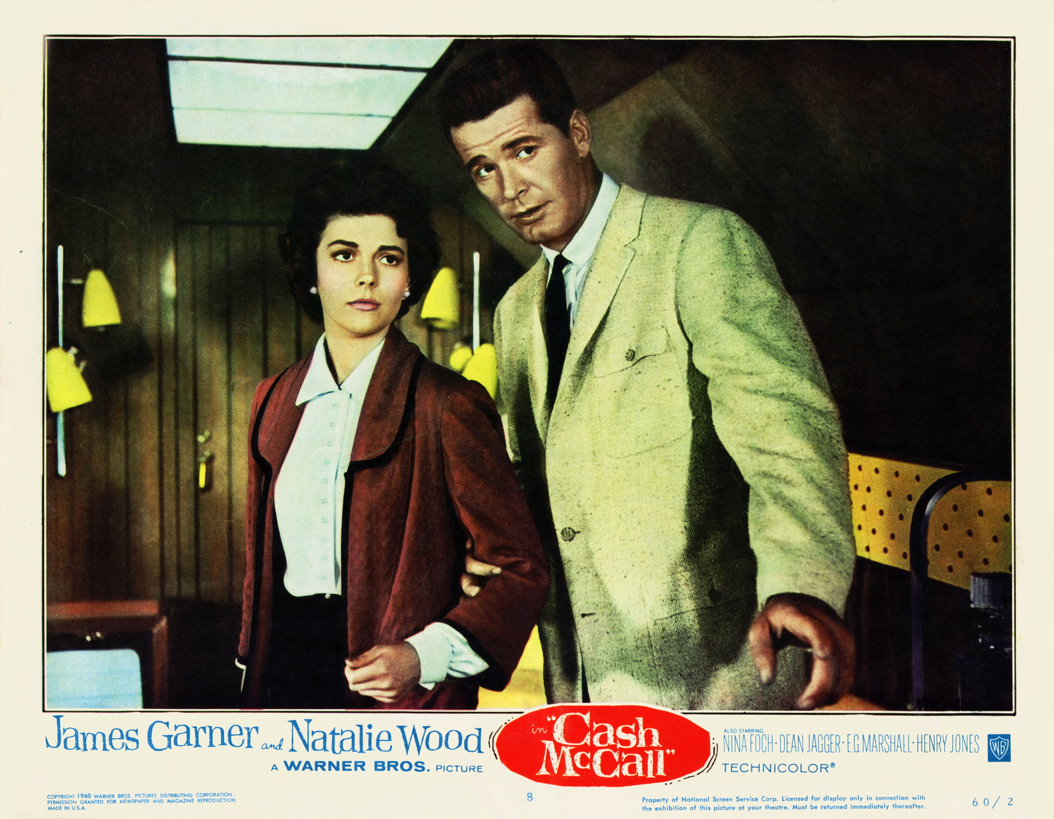 Natalie Wood and James Garner in Cash McCall (1960)