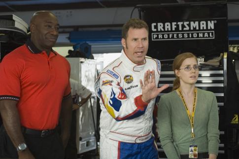 Will Ferrell, Michael Clarke Duncan, and Amy Adams in Talladega Nights: The Ballad of Ricky Bobby (2006)