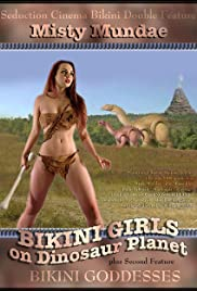 Bikini Girls on Dinosaur Planet Poster